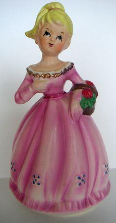 "Vintage Girl Porcelain Figurine Music Box ""Somewhere My Love"" Made in Japan. Vintage Music, Vintage Girls, Vases, Art Nouveau, Japan Spring, Flea Market Decorating, Music Boxes, Faberge Eggs, Pretty Box"