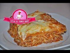 Kıymalı İtalyan Lazanya Tarifi ( Italienische Lasagne Rezepte ) - Leyla ile Y. Ethnic Recipes, Food, Youtube, Italian Lasagna, Recipes, Noodles, Eten, Meal, Meals