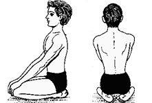 The only asana one can do after eating with improves digestion system - The Vajarasan (Thunderbolt Pose)
