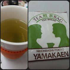 Green tea bag - Yamakaen
