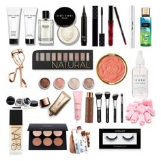 """""""Makeup ❤️"""" by itzesma11 on Polyvore featuring beauty, Bobbi Brown Cosmetics, Gucci, CARGO, Tweezerman, Forever 21, Terre Mère, Milani, Nude by Nature and Vita Liberata"""