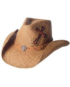 7ecadadfeec Bullhide® Ladies  Living On A Prayer Straw Hat    Straw    Ladies