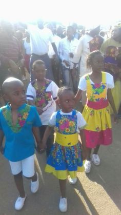 Tsonga love African Traditional Dresses, Traditional Wedding Dresses, African Dresses For Kids, African Print Fashion, West Africa, Black History, Harajuku, Arts And Crafts, Africans