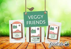Aufgepasst: Neu in unserem Sortiment & Veganern mit Sicherheit ein leckerer Begriff: #VeggyFriends Schon probiert?