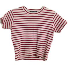 Pinterest: Forgotten Stories || Red and white stripes short sleeved shirt || Kate Weatherall || aesthetic