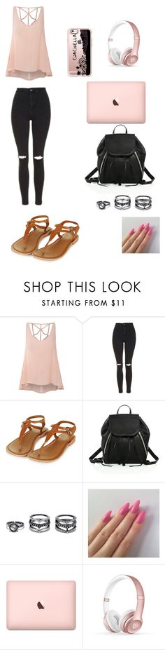 """""""Last Day Of School"""" by ms-annebee on Polyvore featuring Glamorous, Topshop, Rebecca Minkoff, Lulu*s, Beats by Dr. Dre and Casetify"""