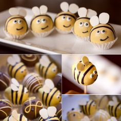 Bumble Bee Cake Balls
