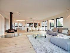 verjüngung: umbauen bringt durchblick - altbau - hausideen, so ... - Innenarchitektur Design Modern Wohnzimmer