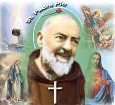 Quote by S. Padre Pio: You suffer, but you must rejoice too, because one day your suffering will change into joy.
