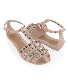 Jellies and studs? Done & done. $19.80 ;; uhm, different, but jellies .. questionable