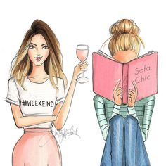 Which one looks like your weekend? #fashionsketch #fashionillustration…