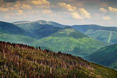 Železný vrch a Kozí hřbety