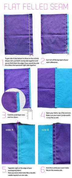 Mother-Daughter Reversible Paper Bag Skirt DIY - The Sewing Rabbit