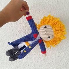 Pequeno Príncipe!♥ - Little Prince #amigurumi #crochê #feitoamao #ganchillo #hechoamano #handmade #c - anacraftbox