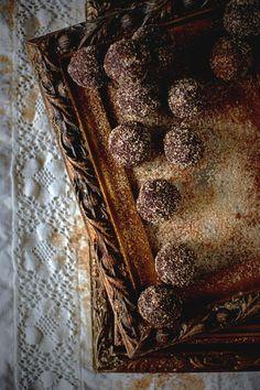 chocolate orange truffles.