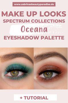 Ich stelle Dir die neue cruelty-free Lidschattenpalette von Spectrum Collections vor. Einzigartige Lidschatten für Alltags Augen Makeup Looks oder bunte AMU's. Inklusive  Schminkanleitung damit auch Du die Make-up Looks für die Augen zu Hause nachschminken kannst. #eyemakeup #augenmakeup #makeuptutorial