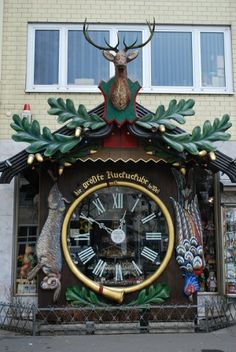 World's Largest Cuckoo Clock in Wiesbaden, Germany TIME~SAVIOUR AND DESTROYER༺ ♠ ༻*ŦƶȠ*༺ ♠ ༻