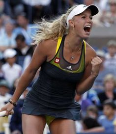 Caroline Wozniacki , Danish tennis player