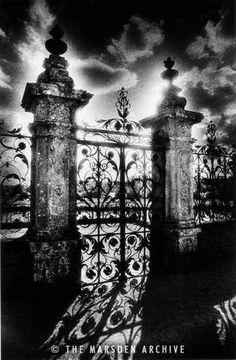 Gates, Carrouges Chateau, Normandy, France (MA-FR-639)