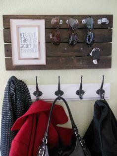 DIY Sunglasses and Key Holder + Inspirational Message