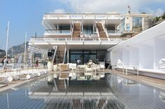 foster + partners anchors monaco yacht club in monte carlo World Architecture Festival, Architecture Design, Monte Carlo, Club Nautique, Monaco Yacht Show, Foster Partners, Hotels, Norman Foster, Lighting Manufacturers