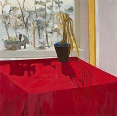"Donkey, 2009 by Nancy MacCarhy oil on canvas 24"" x 24"""