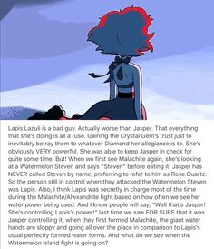 Lapis Lazuli is a bad guy [Part 1] Oh my gosh... I don't want to believe this...