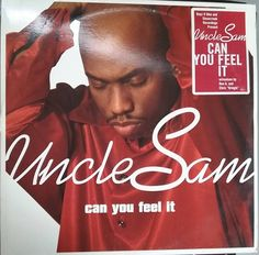 Uncle Sam, Sam Turner, Can You Feel It, Vintage Record Album, Vinyl LP, American R&B Singer, Boyz II Men's Stonecreek Records by VintageCoolRecords on Etsy