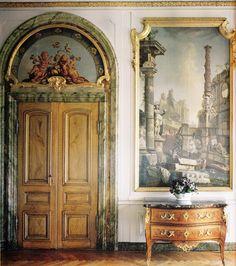 Stora Wäsby - Swedish Castle #antique #classic #interior