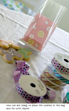 Pretty Cookie Gift Bags