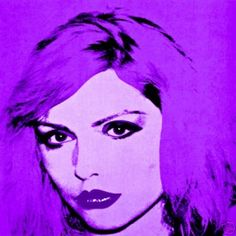 Debbie Harry by Andy Warhol....love her, love him.