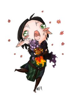 demons are totes adorbz, yo by ~kyuubifred on deviantART