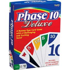 Played Phase 10 bet the Deluxe game is just as much fun