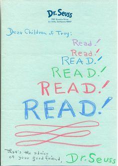Dr. Seuss Letter by troylib, via Flickr