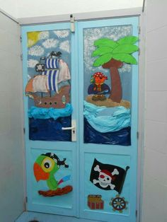 Porte de classe on pinterest classroom door classroom for Decoration porte halloween