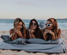 No sleep at all bestfriends, 3 bffs, three best friends, best friend goals, Photos Bff, Best Friend Photos, Best Friend Goals, Beach Photos, Friend Pics, Photo Summer, Summer Pictures, Shotting Photo, Cute Friend Pictures