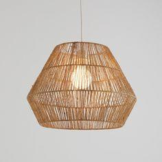 Suspension rotin, non électrifiée, Yaku Pendant Lamp, Pendant Lighting, Light Pendant, Seagrass Storage Baskets, Ceiling Shades, Lampshades, Handmade Shop, Light Shades, Colorful Interiors