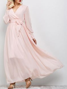 GET $50 NOW | Join Zaful: Get YOUR $50 NOW!http://m.zaful.com/belt-maxi-surplice-dress-p_252674.html?seid=1158101zf252674