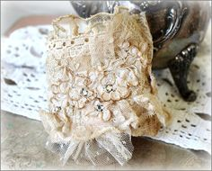 What a special idea for the bride, or a keepsake for your mom.