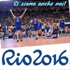 #rio2016 #italy #usa #madeit #volleyball #greatjob