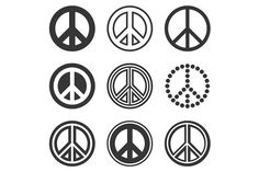 Hippie Peace Signs Set by Peace Sign Drawing, Peace Sign Art, Peace Signs, Hippie Peace, Hippie Art, Peace Sign Tattoos, Hippie Shoes, Best Icons, Gypsy