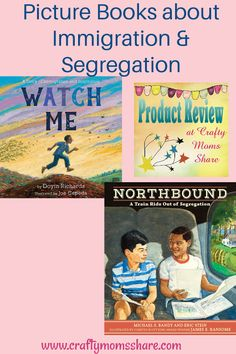 New Picture Books about Segregation & Immigration Books About Growing Up, Black And White People, Becoming A Doctor, Jim Crow, Help Teaching, Train Rides, Grade 2, Picture Books, New Pictures