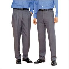 The difference between pleated and flat front pants