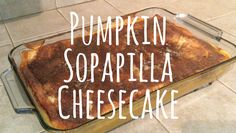 Pumpkin Sopapilla Cheesecake Recipe - Perfect for Fall season! Pear Recipes, Pumpkin Recipes, Fall Recipes, Holiday Recipes, Sopapilla Recipe, Sopapilla Cheesecake, Pear And Almond Cake, Almond Cakes, Just Desserts