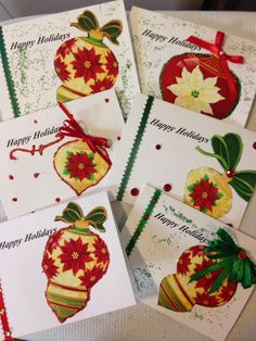 FREE SHIPPING SALE 6 Handmade Holiday Christmas by TMStreasures