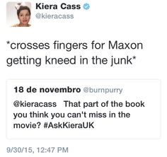 Book Memes, Book Quotes, Book Tv, The Book, Kiera Cass Books, The Selection Series Books, Good Books, Books To Read, Maxon Schreave