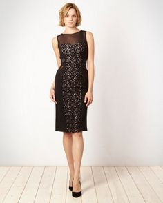 Black lace, sheer mesh panelling and a sexy, tailored fit ensures this Star by Julien Macdonald dress is set to cause a sensation. £65 from Debenhams