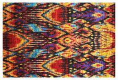 Silk Ikat Rug, Multi on OneKingsLane.com