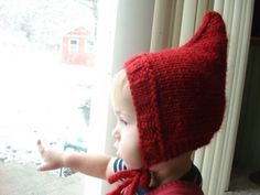 Gnome Hat my mom made one of these out fleece. My kids loved it made it through three kids.