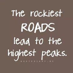 Take the road less traveled!  :)   Valerie